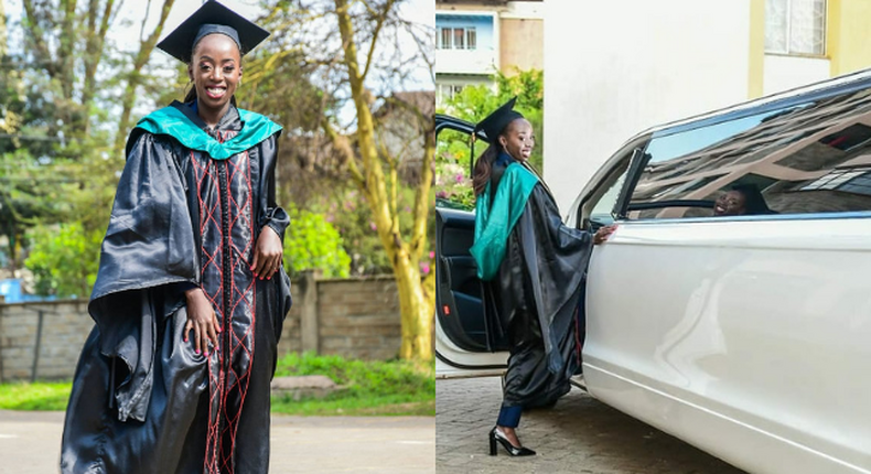 Akothee holds Exquisite Graduation party for daughter Vesha after graduating from Strathmore University