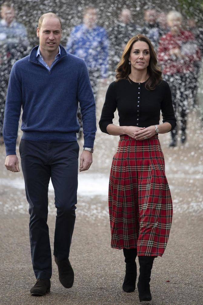 Vojvotkinja i vojvoda od Kembridža danas u Londonu