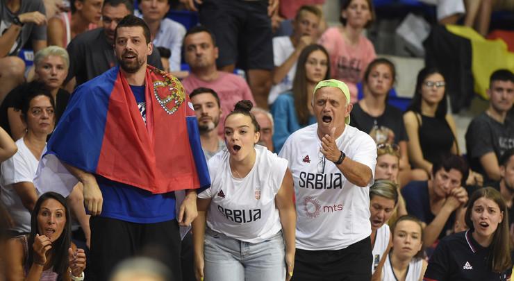 Košarkašice Srbije, Belgije, ženska košarkaška reprezentacija