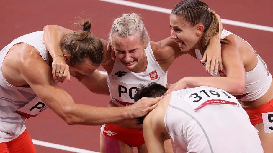Natalia Kaczmarek, Karol Zalewski, Justyna Święty-Ersetic, Kajetan Duszyński - Tokio 2020