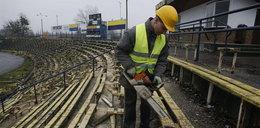 Rozbierają stadion Arki Gdynia