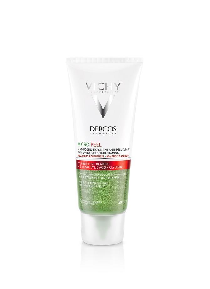 Vichy Dercos Micro Peel, piling šampon protiv masne peruti