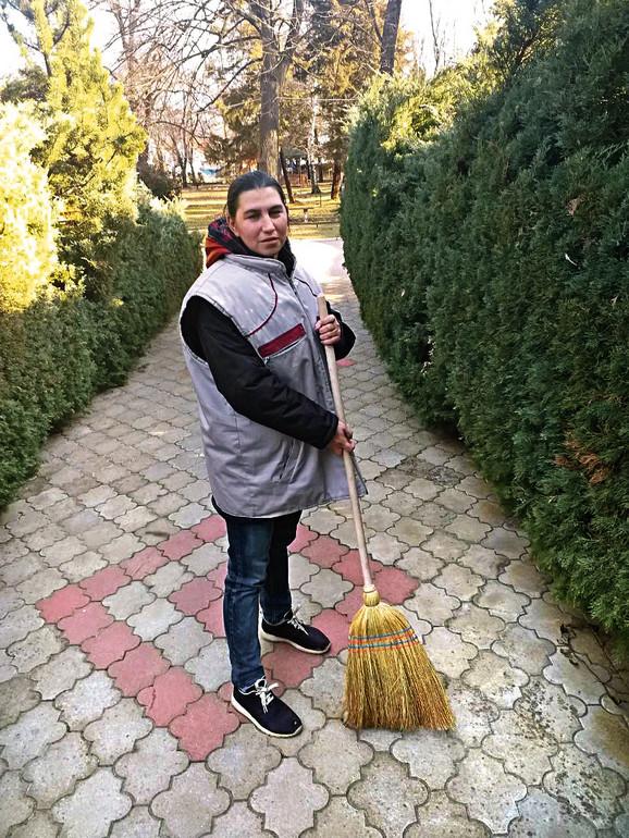 Jelena Mitrovic na radnom mestu