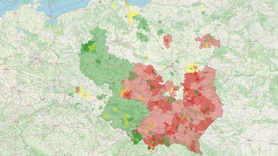 Atlas Nienawiści - stan na 19 maja 2021 r.