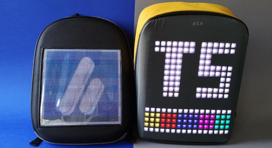 Pix vs. Klon: Rucksäcke mit LED-Display im Vergleich
