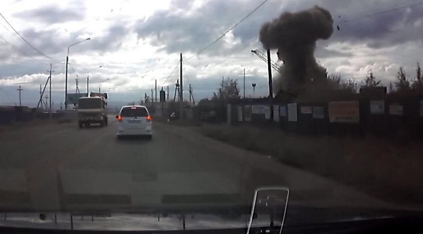 Na złomowisku eksplodowała rakieta. Dwie osoby nie żyją