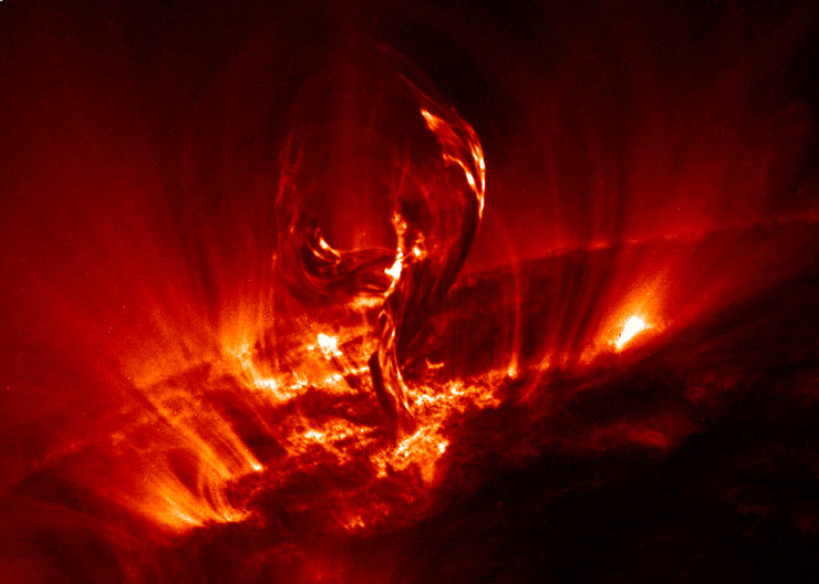 solarna baklja
