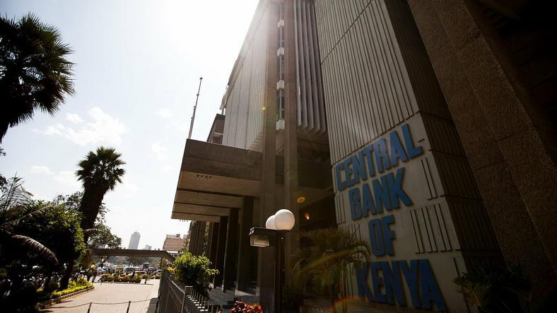 Central Bank of Kenya headquarters in Nairobi.