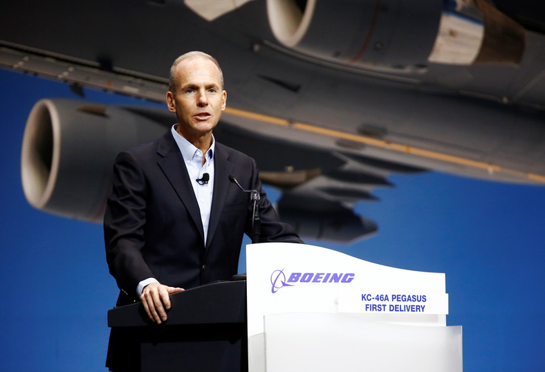 Boeing Chairman, President and CEO David Muilenburg.
