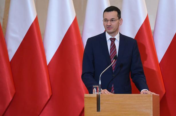 Wicepremier Mateusz Morawiecki chce, byśmy szybciej dogonili średni unijny PKB per capita.