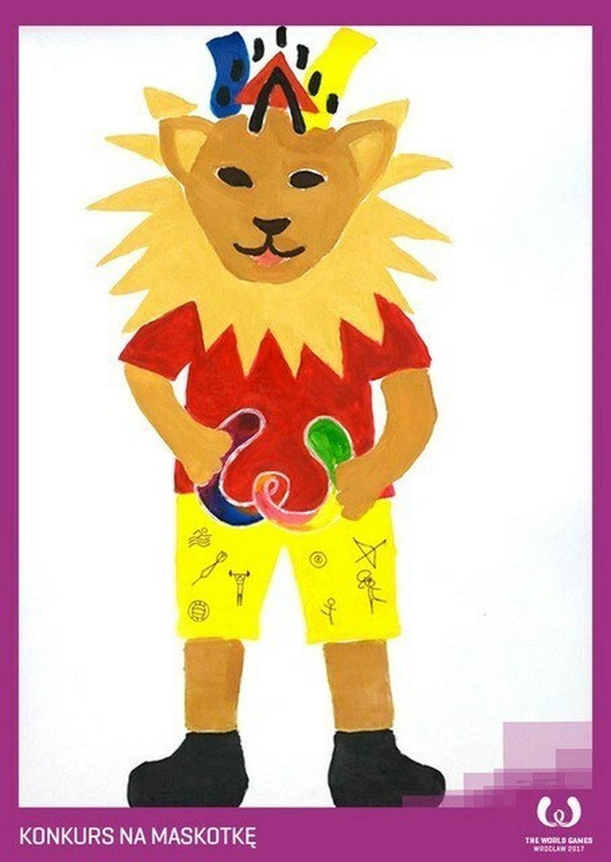 Konkurs na maskotkę na World Games 2017: lew