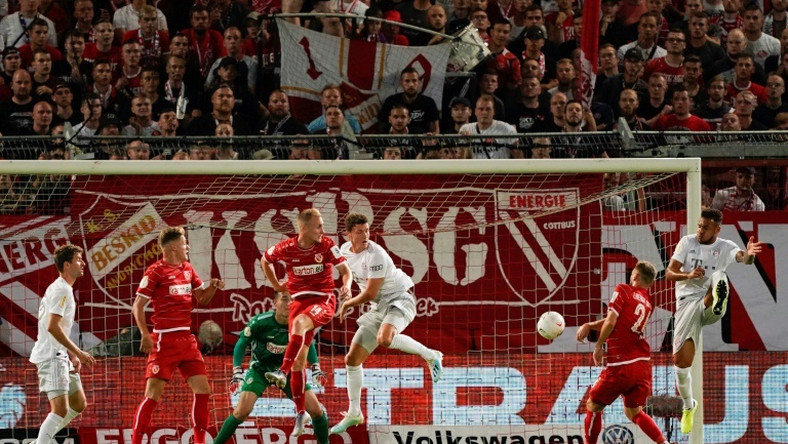 Bayern Munich eased their way to a first-round victory over Energie Cottbus in the German Cup on Monday