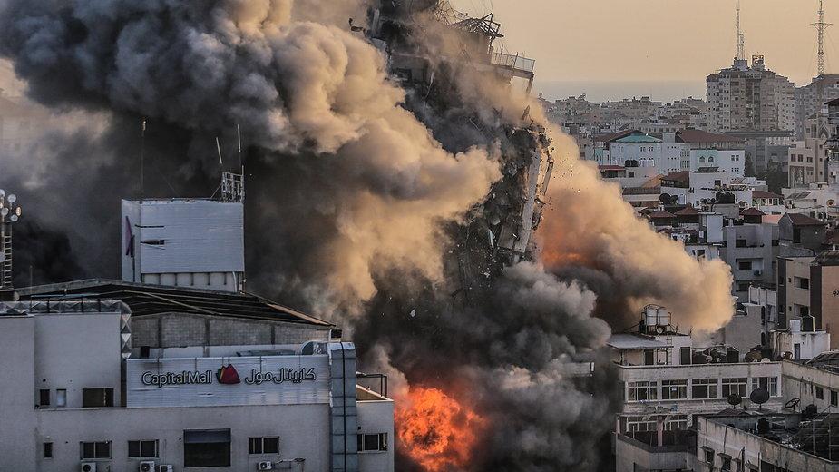 Izraelskie bombardowanie Strefy Gazy