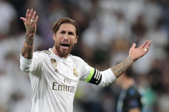 Serhio Ramos, kapiten Real Madrid
