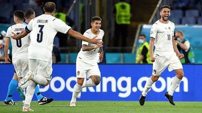 Włochy zdominowały Turcję na otwarcie Euro 2020