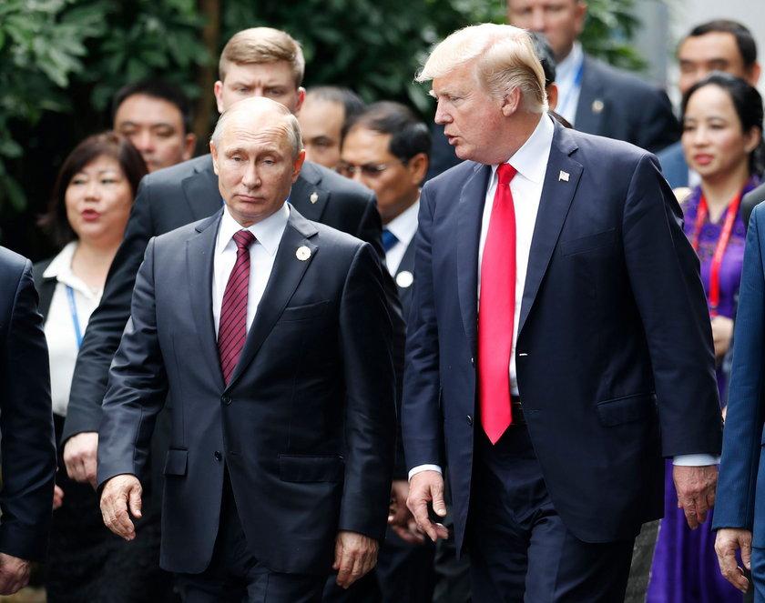 Trump grozi: niech Rosja przygotuje się na nasze pociski w Syrii