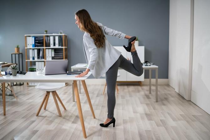 Vežbanje u kancelariji? Zašto da ne!