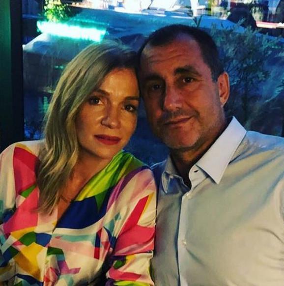 Tanja Rađenović i muž