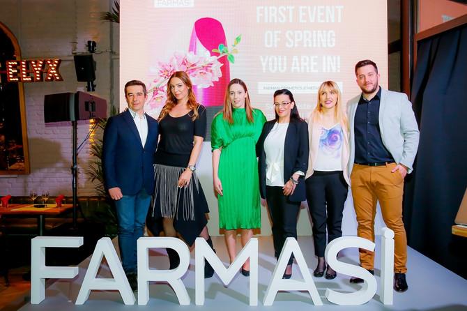 FARMASI internacionalnog kozmetičkog i kozmetičko–medicinskog brenda