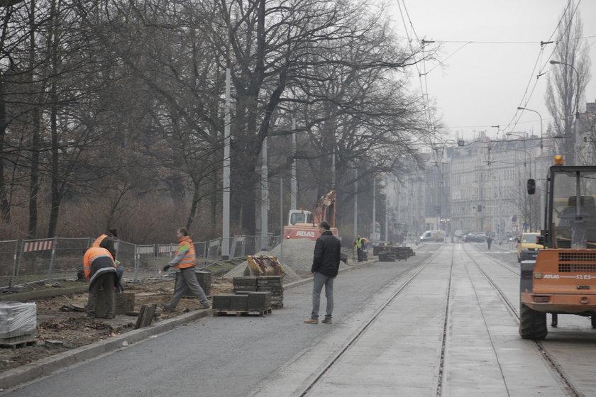 ul. Nowowiejska (odcinek od ul. Wyszyńskiego do ul. Prusa) we Wrocławiu