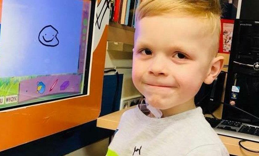 W sylwestra 6-letni Nikodem usłyszał przerażającą nowinę. Teraz chłopiec walczy o życie