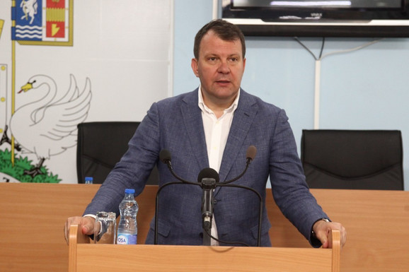 Igor Mirović u poseti opštini Bačka Palanka