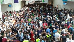 Gamescom 2015 - tysiące ludzi stoją w kolejkach, aby tam wejść. Padnie rekord?