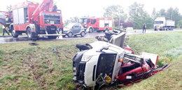 Trzy osoby ranne po wypadku w Opolu