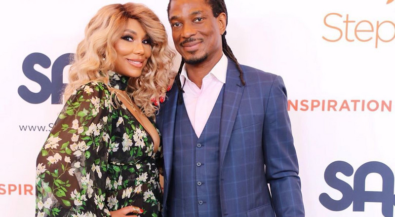 Tamar Braxton's Nigerian boyfriend files for domestic violence restraining order against her