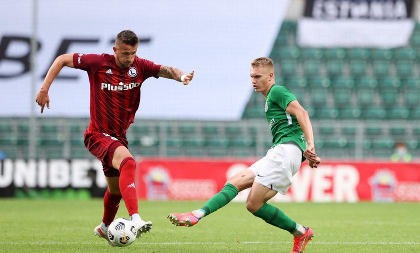 W Tallinie legioniści po trudnym meczu awansowali do 3. rundy kwalifikacji Ligi Mistrzów
