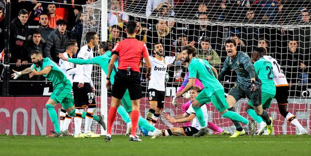 Valensija, Real Madrid