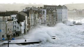 Orkan Eleanor szaleje nad Europą