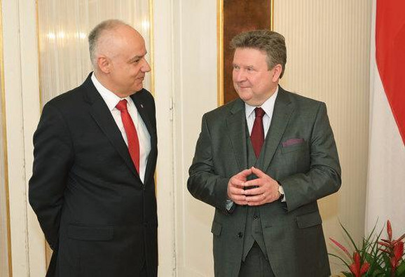 Poziv gradonačelniku Beča da poseti Beograd: Dr Zoran Radojičić i dr Mihael Ludvig