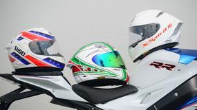 Test kasków motocyklowych Shoei X-Spirit - porównanie trzech generacji