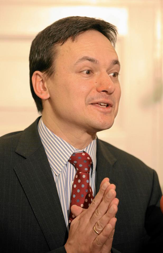 Minister spraw wewnętrznych Jacek Cichocki, fot. Sławomir Kamiński/Agencja Gazeta