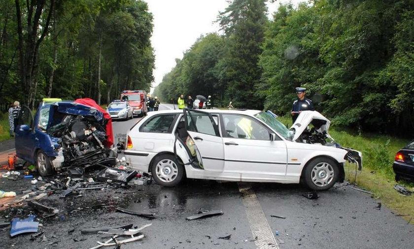Gminazjalistka zginęła w wypadku. Drastyczne zdjęcia
