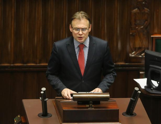 Wystąpienie Arkadiusza Mularczyka z Prawa i Sprawiedliwości podczas posiedzenia Sejmu.