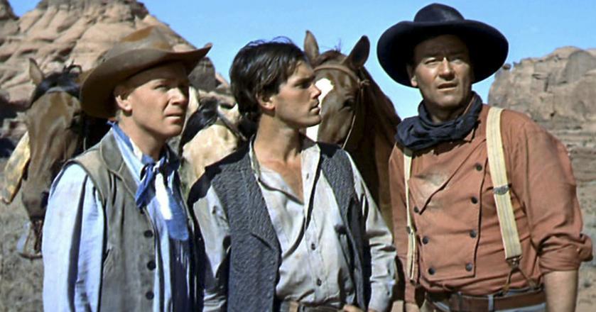 "Kadr z filmu ""Butch Cassidy i Sundance Kid"""