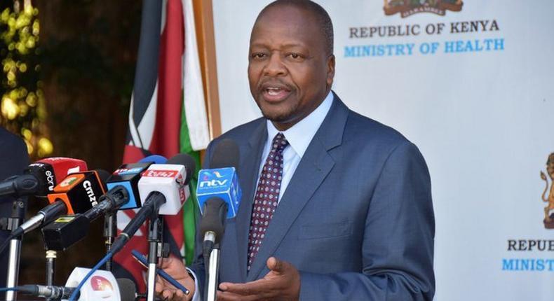 Treasury CS Ukur Yattani to cut Ministry of Health's budget despite Coronavirus crisis