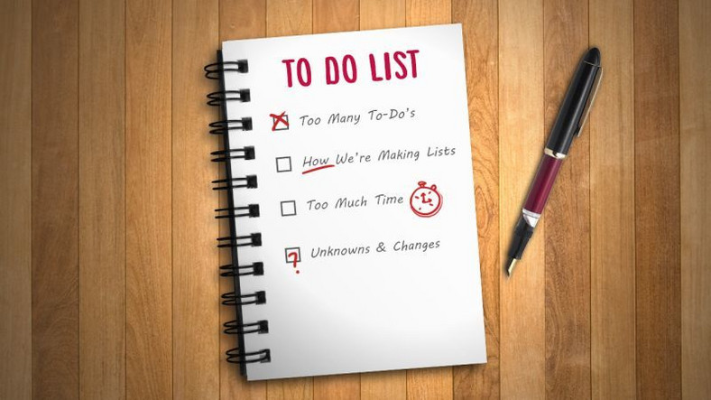 To do list helps you accomplish your tasks