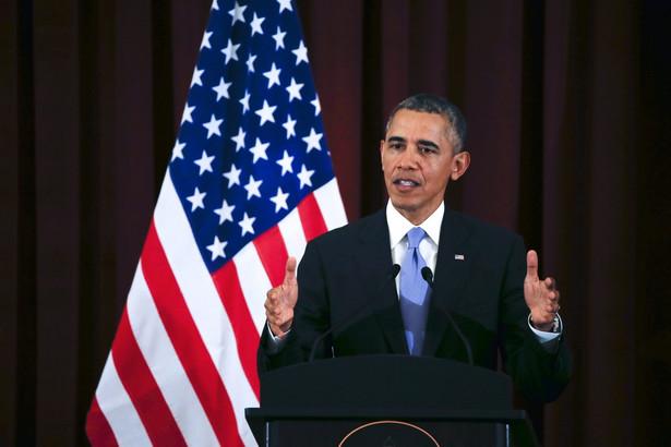 Barack Obama w Kuala Lumpur. Fot. EPA/AHMAD YUSNI/PAP/EPA
