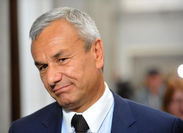 Minister Sportu Andrzej Biernat