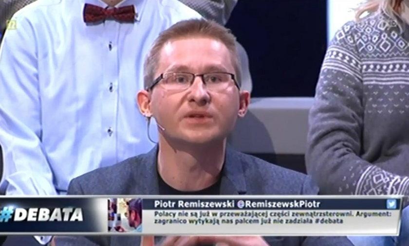 Sławomirowi Sierakowskiemu puściły nerwy podczas ostrej dyskusji z Bronisławem Wildsteinem