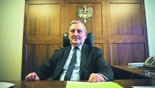 Prof. dr hab. Roman Hauser prezes Naczelnego Sądu Administracyjnego, przewodniczący Krajowej Rady Sądownictwa
