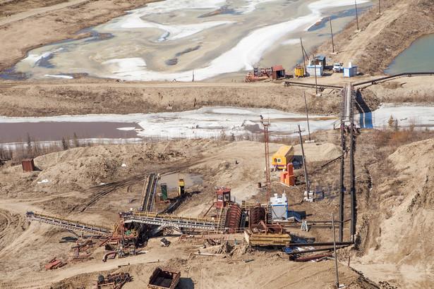 kopalnia złota - zdjęcie ilustracyjne