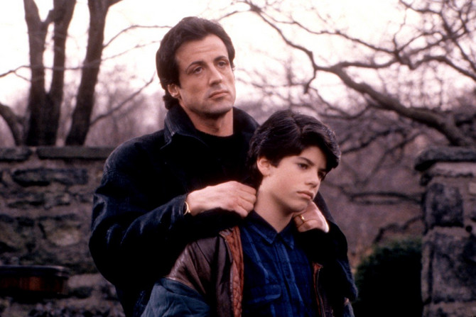 Stalone sa sinom Sejdžom u filmu