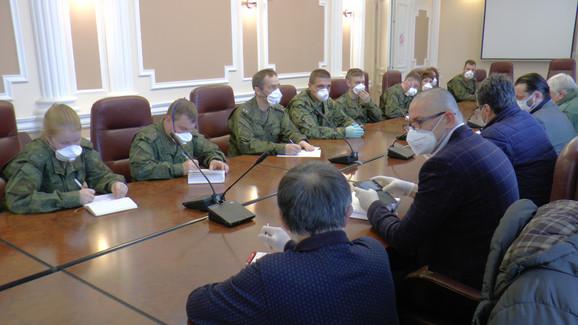 Ruski stručnjaci  Nišu