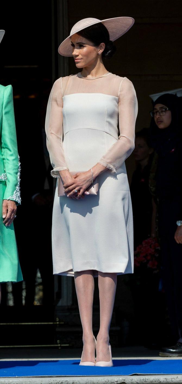 Megan na rođendanu princa Čarlsa u Wolford najlonkama