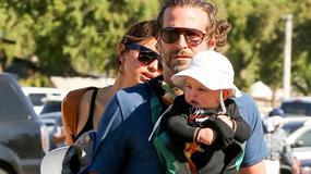 Bradley Cooper i Irina Shayk z córką w parku. Lea ma już pół roku