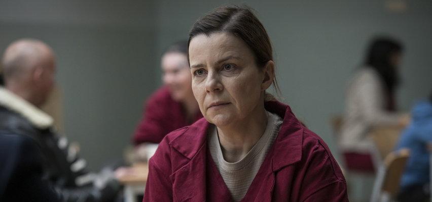 """Nowości serialowe jesień 2021: """"Skazana"""". Agata Kulesza zdradza: Więzienie to przerażające miejsce"""